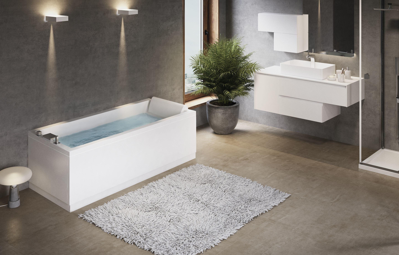Vasca Da Bagno Novellini Calos : Novellini calos vasca hidro plus 3g vestire la casa